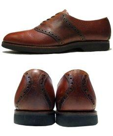 """画像2: """"COLE-HAAN"""" Saddle Shoes made in USA BROWN  size 8  ( 26 cm ) (2)"""