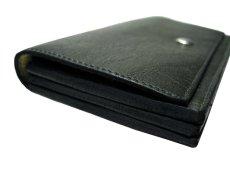 """画像5: """"JUTTA NEUMANN"""" Leather Wallet """"the Waiter's Wallet""""  color : GREEN / ターコイズブルー 長財布 (5)"""