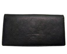 """画像2: """"JUTTA NEUMANN"""" Leather Wallet """"the Waiter's Wallet""""  color : BLACK / EMERALD  財布 ONE SIZE (2)"""