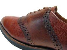 """画像4: """"COLE-HAAN"""" Saddle Shoes made in USA BROWN  size 8  ( 26 cm ) (4)"""
