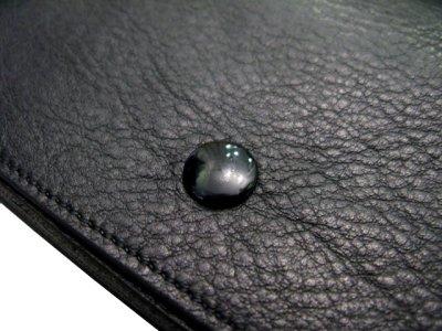 """画像2: """"JUTTA NEUMANN"""" Leather Wallet """"the Waiter's Wallet""""  color : BLACK / EMERALD  財布 ONE SIZE"""