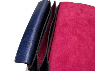 """画像2: """"JUTTA NEUMANN"""" Leather Wallet """"the Waiter's Wallet""""  color : NAVY  財布 ONE SIZE"""