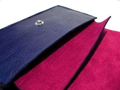 """画像1: """"JUTTA NEUMANN"""" Leather Wallet """"the Waiter's Wallet""""  color : NAVY  財布 ONE SIZE"""