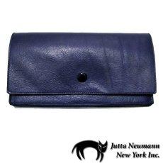 """画像1: """"JUTTA NEUMANN"""" Leather Wallet """"the Waiter's Wallet""""  color : NAVY  財布 ONE SIZE (1)"""