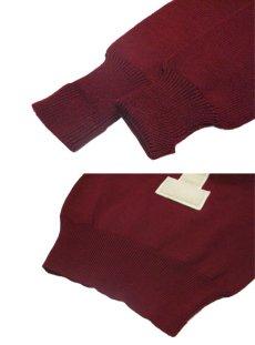 """画像3: 1950's """"LASLEY KNITTING CO."""" Lettered Knit Pullover size S - M  (表記 無し) (3)"""