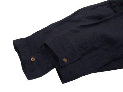 """画像2: """" Note and Pen the poem """" ノートとペン 。 """" The Swing Coat """" Linen / Rayon Dark Navy ONE SIZE"""