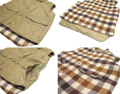 """画像2: 1980's """"L.L.Bean"""" Reversible Vest  Wool / 60:40 size M - L  (表記 M)"""