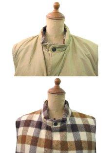"""画像3: 1980's """"L.L.Bean"""" Reversible Vest  Wool / 60:40 size M - L  (表記 M) (3)"""
