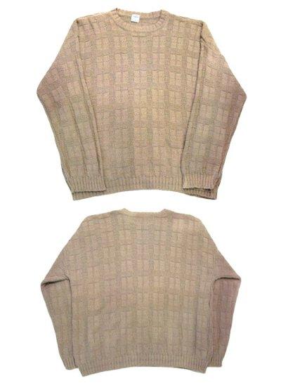 """画像1: """"TONY LAMBERT. Design Group"""" Big Size Cotton Knit Sweater size XL (表記 無し)"""