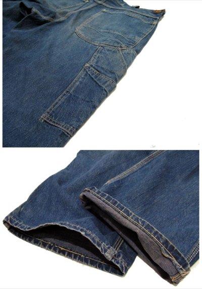 """画像2: 1950's H.D.Lee 191B JELT DENIM Painter Pants  """"Long L"""" size  w 33 inch (表記 なし)"""