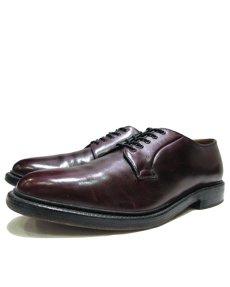 """画像1: """"Lloyd & Haig"""" Plain Toe Leather Shoes  Burgundy  size 10  ( 28 cm ) (1)"""