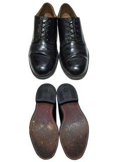 """画像2: 1960-70's """"US NAVY"""" Oxford Service Shoes  """"Leather Sole""""  size 10  ( 28 cm ) (2)"""
