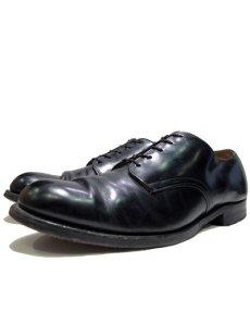 """画像1: 1960-70's """"US NAVY"""" Oxford Service Shoes  """"Leather Sole""""  size 10  ( 28 cm ) (1)"""