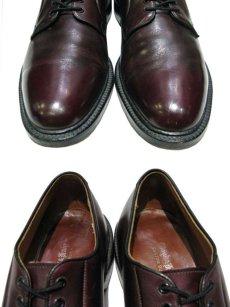 """画像3: """"Lloyd & Haig"""" Plain Toe Leather Shoes  Burgundy  size 10  ( 28 cm ) (3)"""