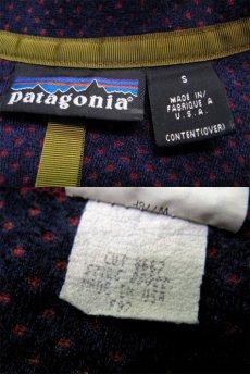 """画像5: 1997's """"Patagonia"""" Retro Cardigan Burgundy size S-M (表記 S) (5)"""