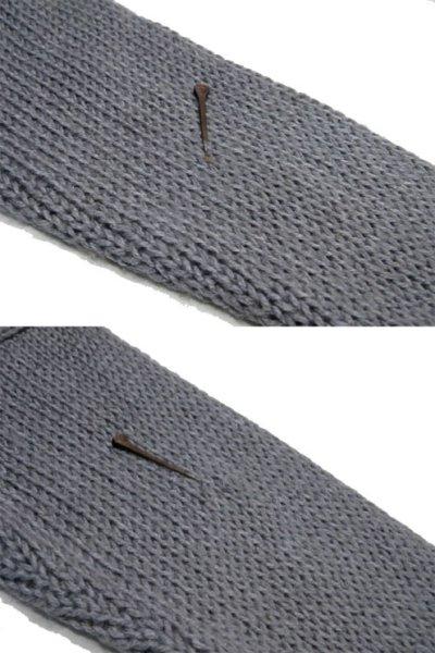 """画像2: 1980's """"FORUM"""" Design Pullover Sweater  GREY/BLACK/PURPLE size L (表記 M)"""