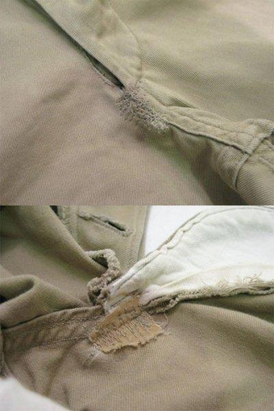 画像2: 1950's US ARMY 45-KHAKI Chino Trousers size w 29 inch (表記 30 x 32)