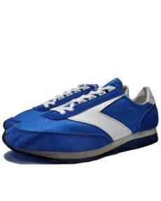 """画像1: 1970's """"BROOKS""""  """"VANTAGE430"""" Truck Shoes DEAD STOCK BLUE / WHITE size 11 (29 cm) (1)"""