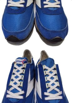"""画像4: 1970's """"BROOKS""""  """"VANTAGE430"""" Truck Shoes DEAD STOCK BLUE / WHITE size 11 (29 cm) (4)"""