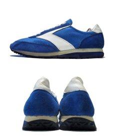 """画像3: 1970's """"BROOKS""""  """"VANTAGE430"""" Truck Shoes DEAD STOCK BLUE / WHITE size 11 (29 cm) (3)"""
