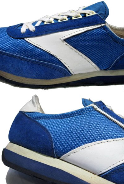 """画像2: 1970's """"BROOKS""""  """"VANTAGE430"""" Truck Shoes DEAD STOCK BLUE / WHITE size 11 (29 cm)"""