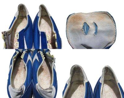 """画像3: 1970's """"BROOKS""""  """"VANTAGE430"""" Truck Shoes DEAD STOCK BLUE / WHITE size 11 (29 cm)"""