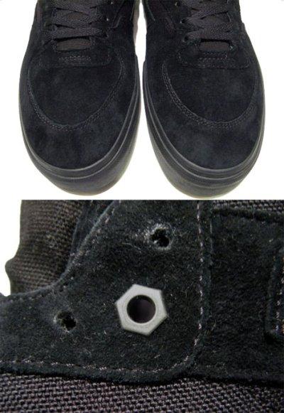 """画像2: NEW VANS  x """"METALLICA""""  """"HALF-CAB""""  BLACK SUEDE size US 6 1/2 (24.5cm)"""