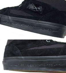 """画像5: NEW VANS  x """"METALLICA""""  """"HALF-CAB""""  BLACK SUEDE size US 6 1/2 (24.5cm) (5)"""