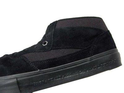 """画像3: NEW VANS  x """"METALLICA""""  """"HALF-CAB""""  BLACK SUEDE size US 6 1/2 (24.5cm)"""