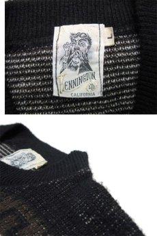 """画像4: 1970's """"Kennington"""" Jacquard Weave Pullover Sweater """"Mickey Mouse"""" size M - L (表記 LARGE) (4)"""