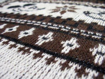 """画像2: 1970's """"Kennington"""" Jacquard Weave Pullover Sweater """"Mickey Mouse"""" size M - L (表記 LARGE)"""