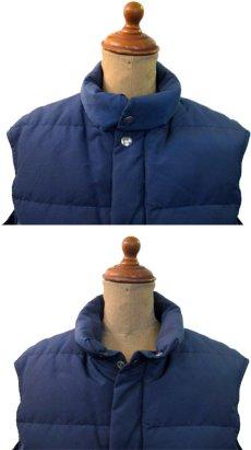 """画像3: 1980's """"Woolrich"""" 60/40 Cloth Down Vest  NAVY size S - M  (表記 SMALL) (3)"""