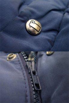 """画像5: 1980's """"Woolrich"""" 60/40 Cloth Down Vest  NAVY size S - M  (表記 SMALL) (5)"""