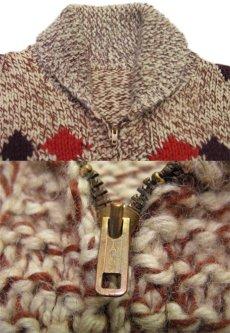 画像3: 1970's ~ Cowichan Sweater 馬 size L ~ XL 位 (表記 無し) (3)