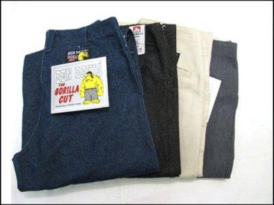 """画像2: BEN DAVIS  """"THE GORILLA CUT"""" Wide Work Pants HEATHER GREY size w 30 / w 32"""