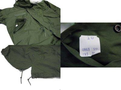 画像3: 1970's US M-65 Fishtail Coat with Lining + Parka  DEAD STOCK size 表記 SMALL - REGULAR