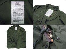 画像5: 1970's US M-65 Fishtail Coat with Lining + Parka  DEAD STOCK size 表記 SMALL - REGULAR (5)