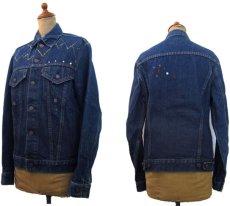 """画像2: 1970's  Levi's 70505 Big""""E"""" Custom Denim Jacket size S - M 36位  (表記 不明) (2)"""