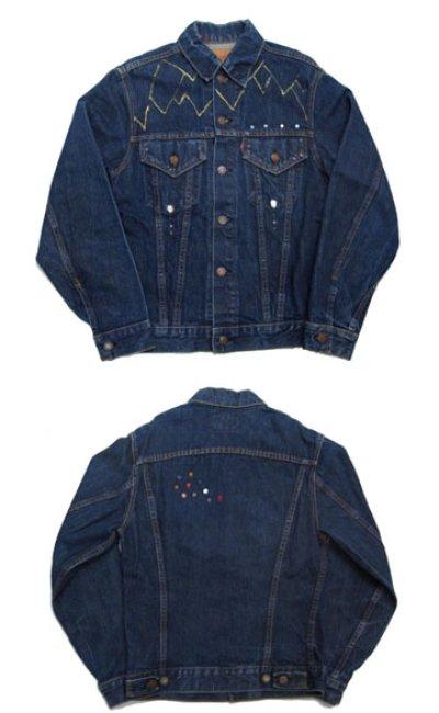 """画像1: 1970's  Levi's 70505 Big""""E"""" Custom Denim Jacket size S - M 36位  (表記 不明)"""