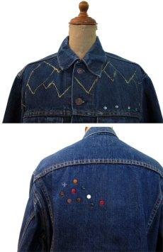 """画像3: 1970's  Levi's 70505 Big""""E"""" Custom Denim Jacket size S - M 36位  (表記 不明) (3)"""