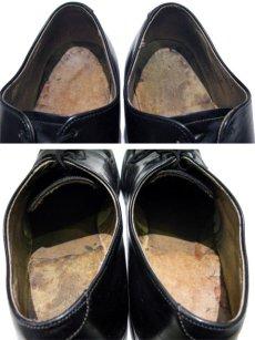 """画像5: 1980's """"US NAVY"""" Oxford Service Shoes BLACK size 10 R  ( 28 cm ) (5)"""