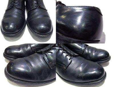 """画像2: 1980's """"US NAVY"""" Oxford Service Shoes BLACK size 10 R  ( 28 cm )"""