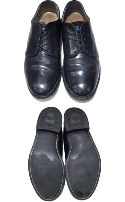 "画像1: 1990's ""US NAVY"" Oxford Service Shoes  size 9 R  ( 27 cm )"