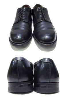 """画像2: 1980's """"US NAVY"""" Oxford Service Shoes BLACK size 10 R  ( 28 cm ) (2)"""
