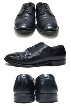 "画像2: 1990's ""US NAVY"" Oxford Service Shoes  size 9 R  ( 27 cm ) (2)"