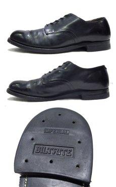 """画像3: 1980's """"US NAVY"""" Oxford Service Shoes BLACK size 10 R  ( 28 cm ) (3)"""