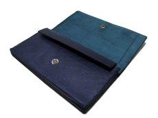 """画像4: """"JUTTA NEUMANN"""" Leather Wallet """"the Waiter's Wallet""""  color : NAVY / EMERALD 長財布 (4)"""