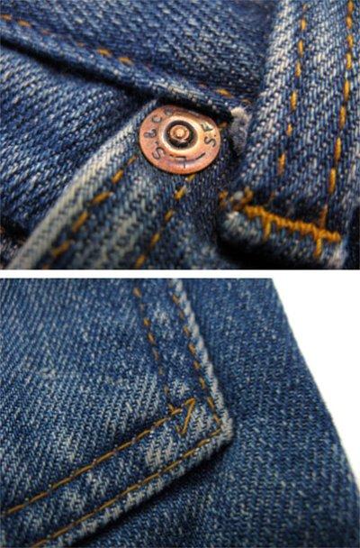 """画像3: 1980's Levi's 517 Denim Pants with Lining """"1984 L.A Olympic"""" size 30.5 inch (表記 30 x 34)"""
