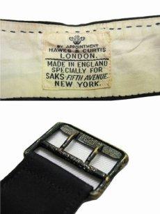 """画像4: 1930's """"Saks Fifth Avenue """" Waist Gillet  BLACK size Free  (表記 不明) (4)"""