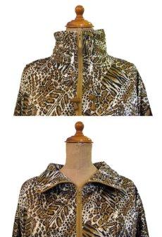 """画像3: 1990's~ """"Rafael"""" Animal Print Crazy Pattern Nylon Jacket size M - L位 (表記 S) (3)"""